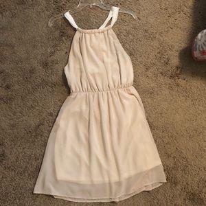 JELLA COUTURE Cream&White Dress